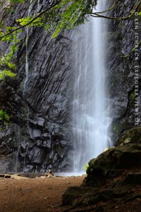 Wasserfall Zentralmassiv Cascade du Queureuilh