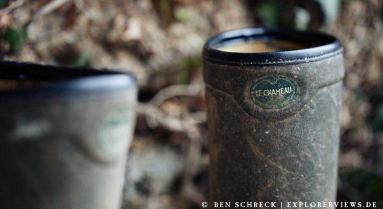 Gummistiefel aus Naturkautschuk von le Chameau