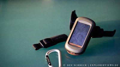 Outdoor Navigation beim Fotografieren mit Garmin GPS