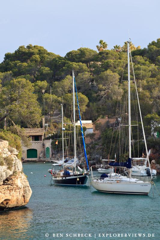 Cala Figuera Hafen Boote Mallorca