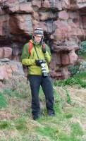 Fotograf am Cap Frehel