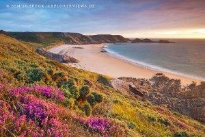 Küstenlandschaften Cap Erquy Sonnenuntergang 1477