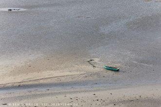 Altes Boot Bucht