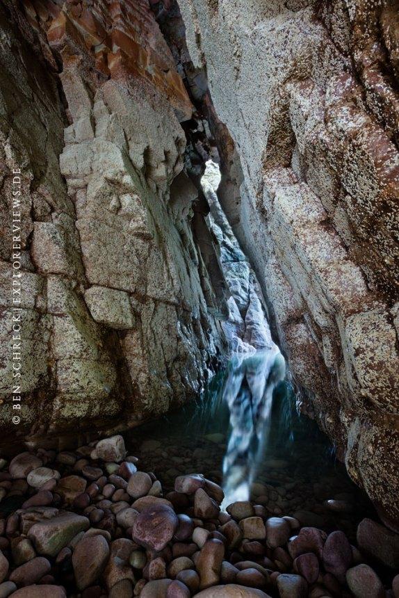 Grand Grotte Blue Pillar