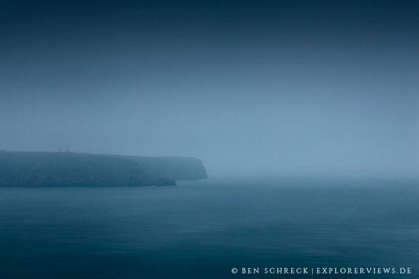 Cap Frehel im Nebel