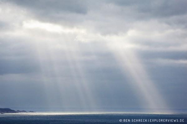 Cap Erquy Sun Beams