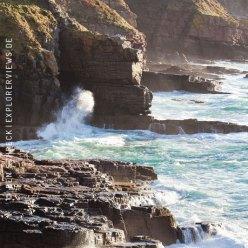 Sturm Küste Bretagne