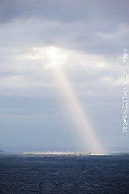 Licht über dem Meer