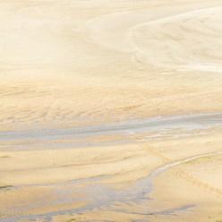 Sandbucht am Meer Ebbe