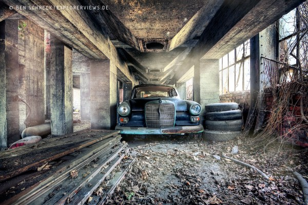Urban Exploration Car Parking Space