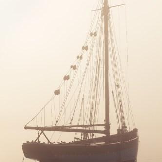 Schönheit des Meeres Segelboot Erquy 7696-2