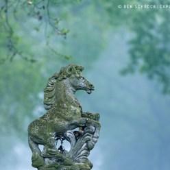 Pferdestatue Haras Calvados