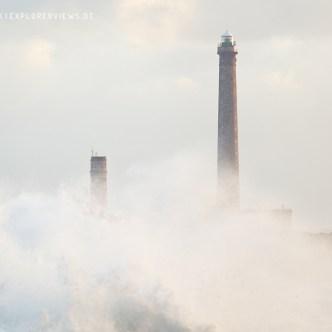 Leuchtturm in den Wolken 1927