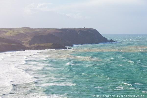 Bucht im Sturm Normandie 3897