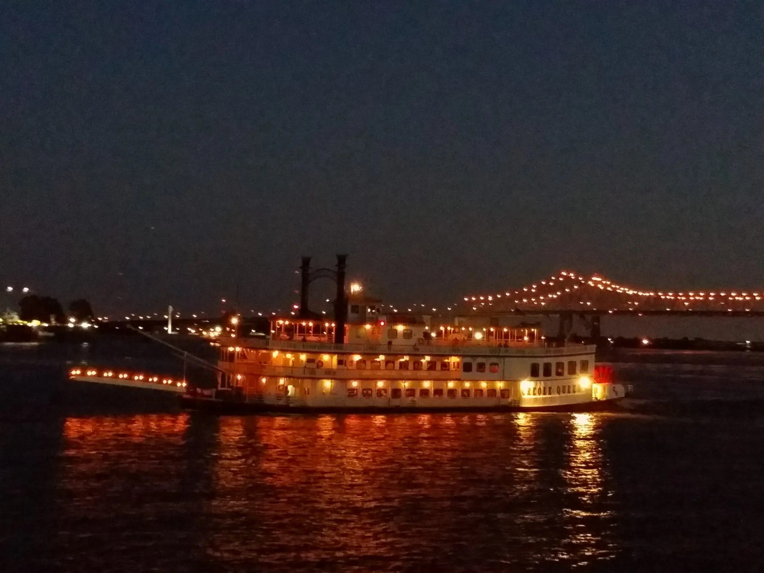 50 great plans for romance, steamboats, dinner cruises, New Orleans
