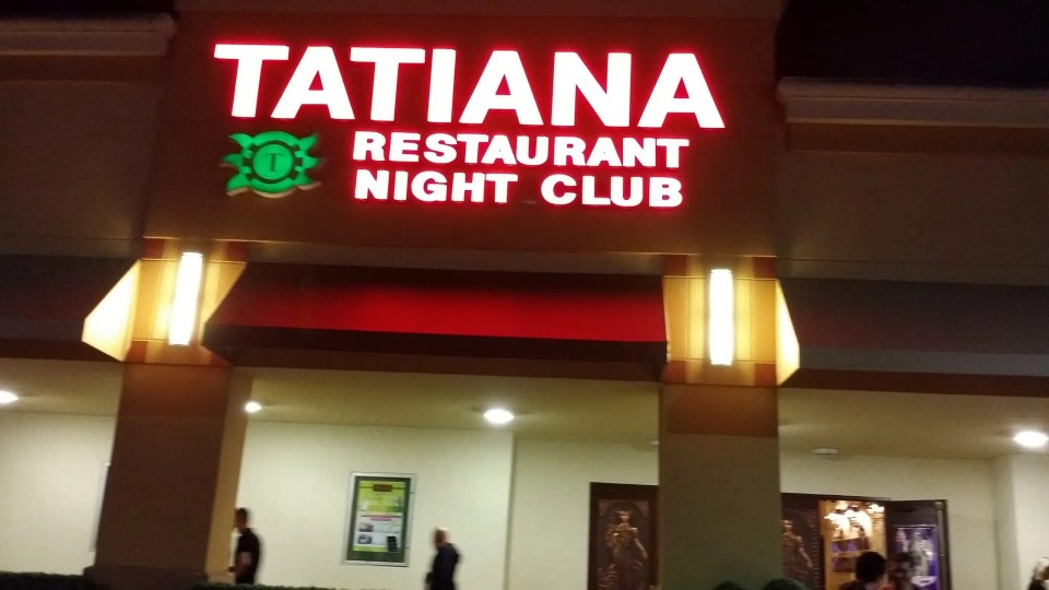 the Marquis of the Tatiana Restaurant and Night Club in Hallendale Beach