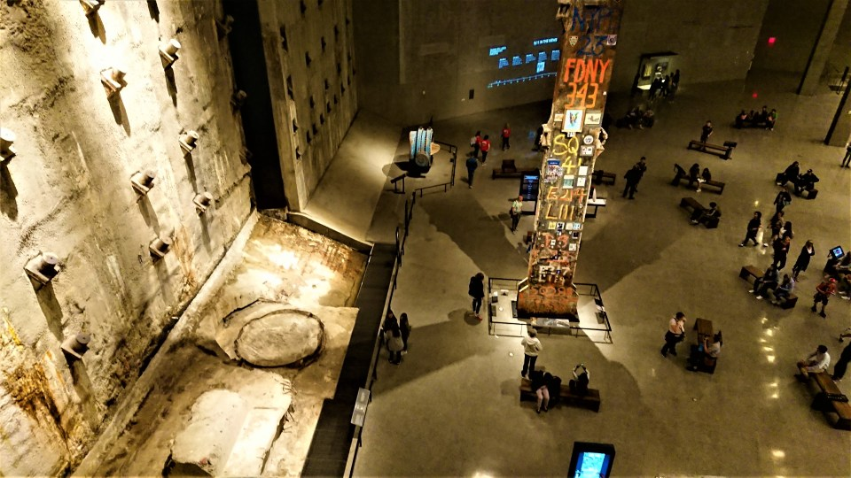 inside the September 11th Museum, one of the things to do in New York City for free
