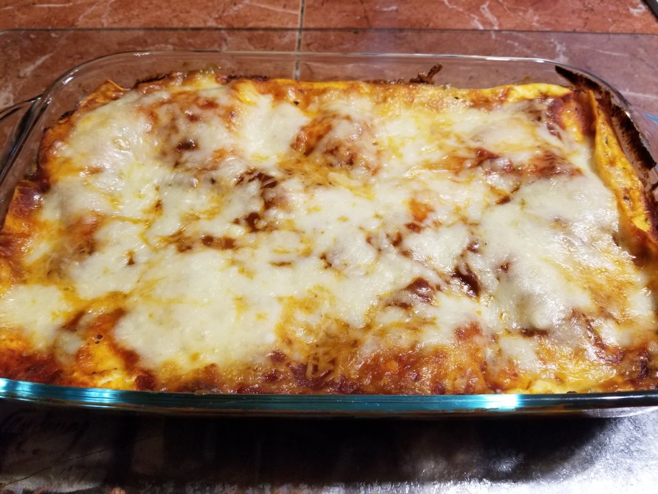 homemade pasta recipes for veggie lasagna baked and ready to eat