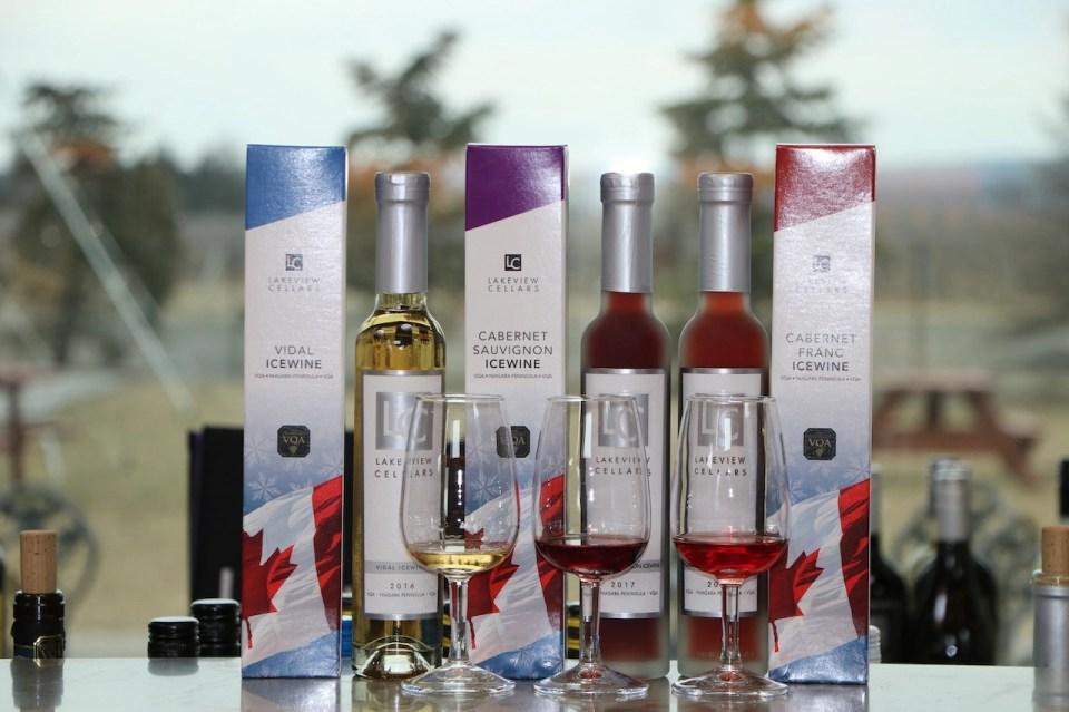 ice wines in Ontario, Canada