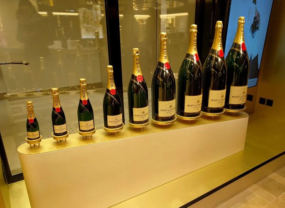 Champagne tasting at Moet & Chandon