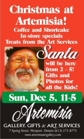 Artemisia Westport Christmas