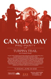 Turpins Trail Canada Day PreParty 2015