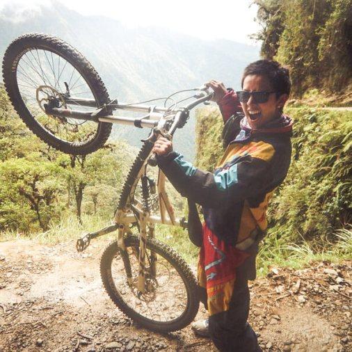Mountain Biking Death Road Bolivia