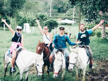 Salento Colombia horse riding tour