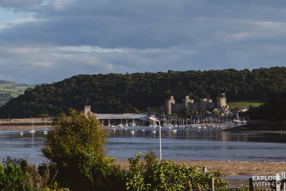 Conwy viewed across the river from Deganwy