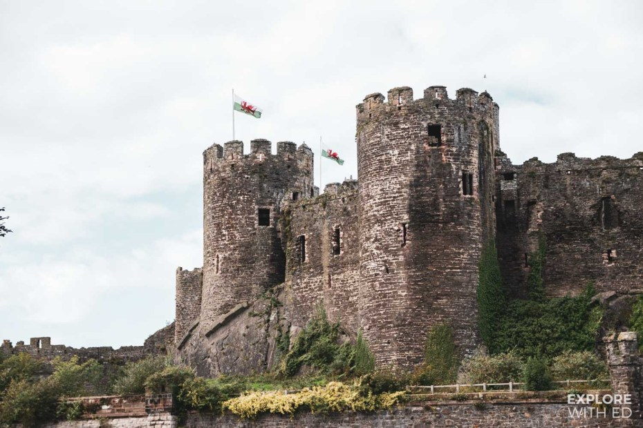 Conwy Castle Towers
