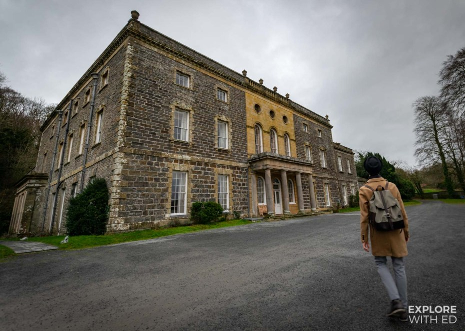 Staying at the luxurious Nanteos Mansion in Aberystwyth, Wales