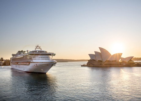 Princess Cruises in Sydney Australia