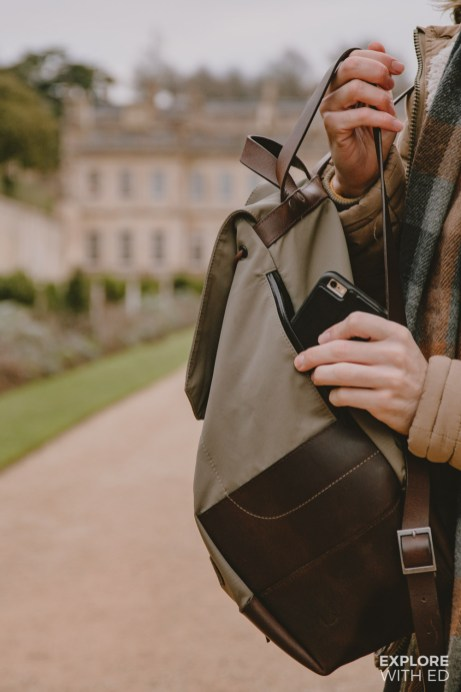 Thorndale Weston Rucksack details (#ad - gifted)