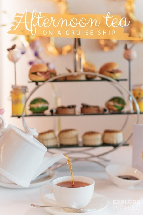 Luxurious Afternoon Teas on cruise ships