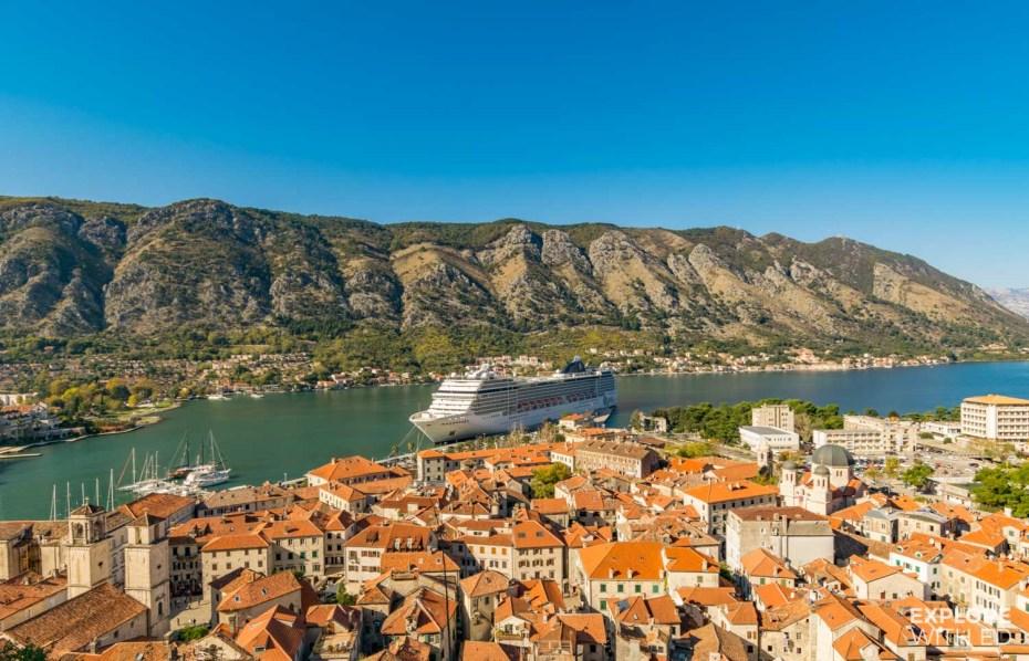 MSC Cruise to Kotor Montenegro