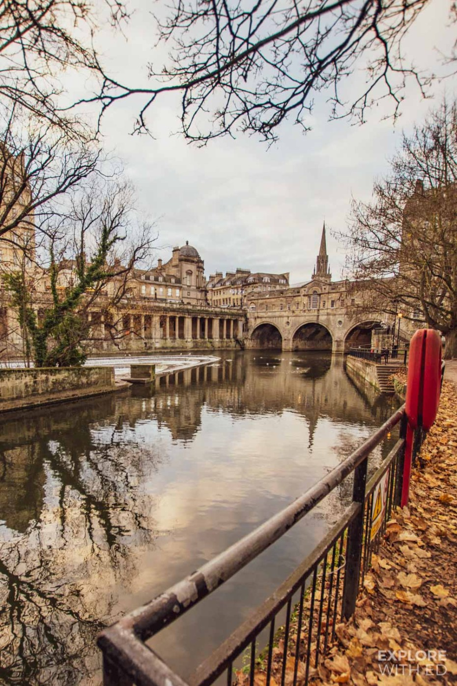 Pulteney Bridge, one of the most popular photo spots in Bath