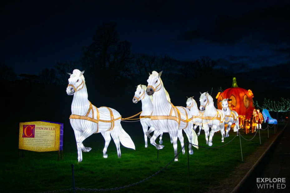 Cinderella, The Festival of Light at Longleat Safari Park