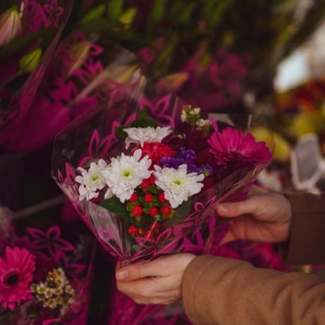 Flower stall in Cheltenham