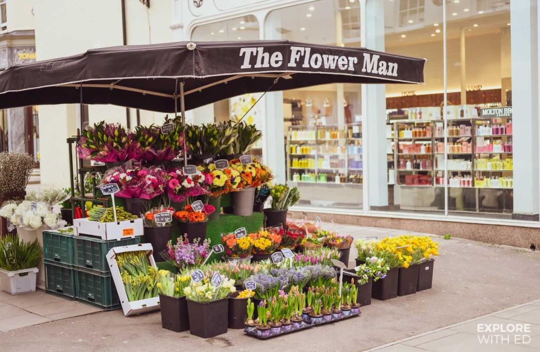 The Flower Man, Cheltenham