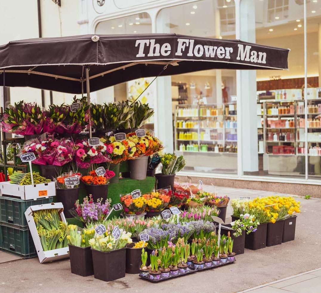 The Flower Man, Cheltenham