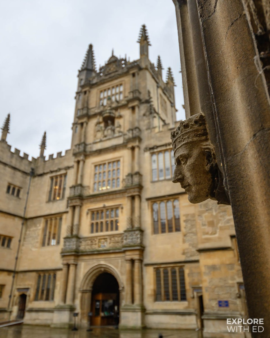 Walking tour of Oxford University grounds with Evan Evans Tours {AD}