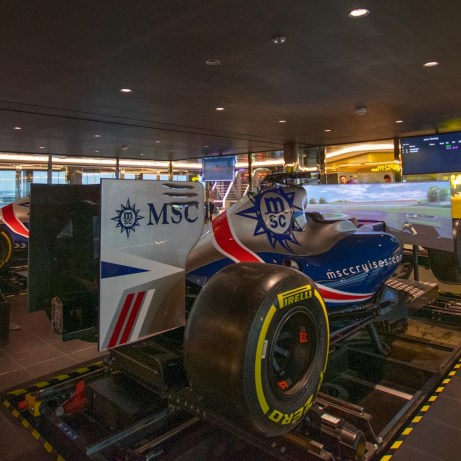 MSC F1 Simulator