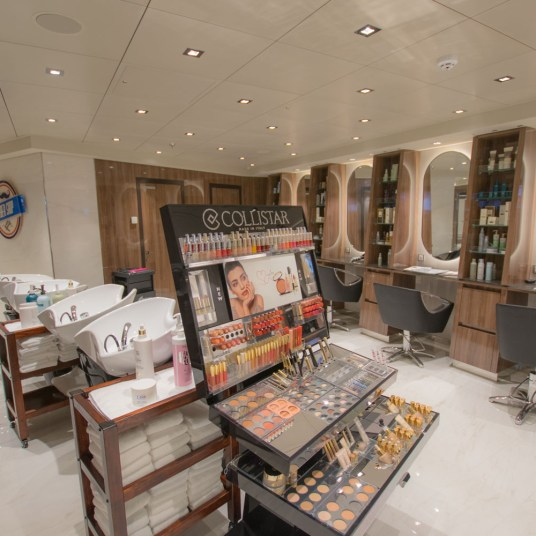 Spa and salon on MSC Bellissima