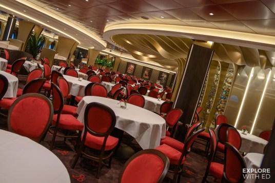Dining room on MSC Bellissima