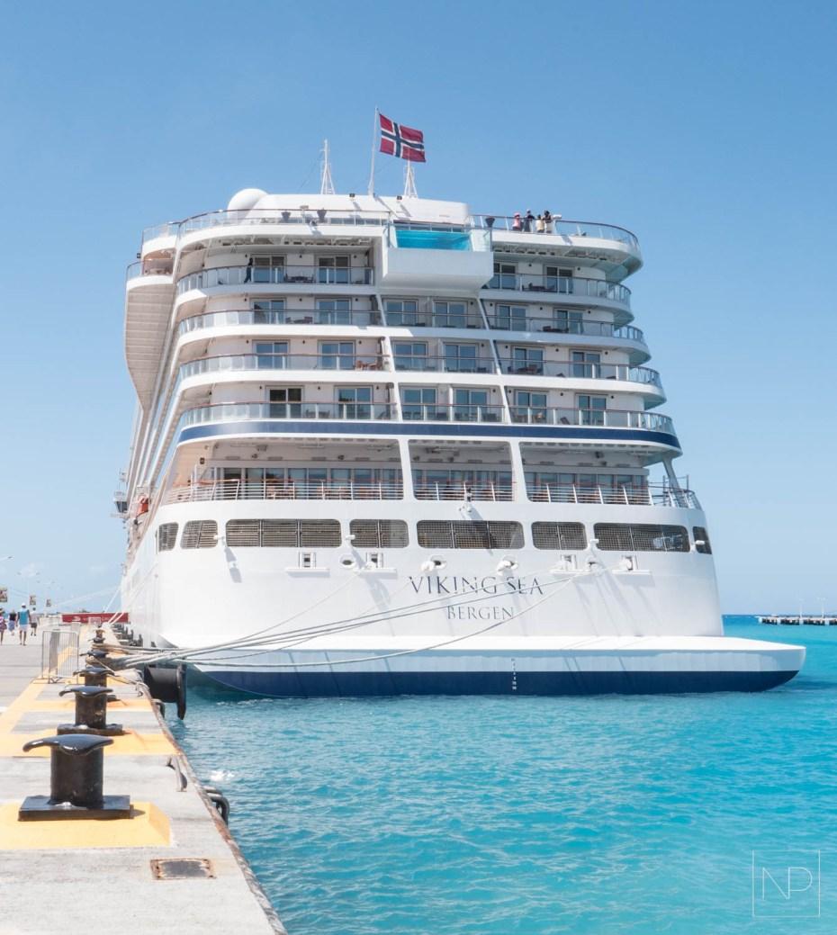 Viking Sea cruise ship, West Indies explorer cruise [AD]