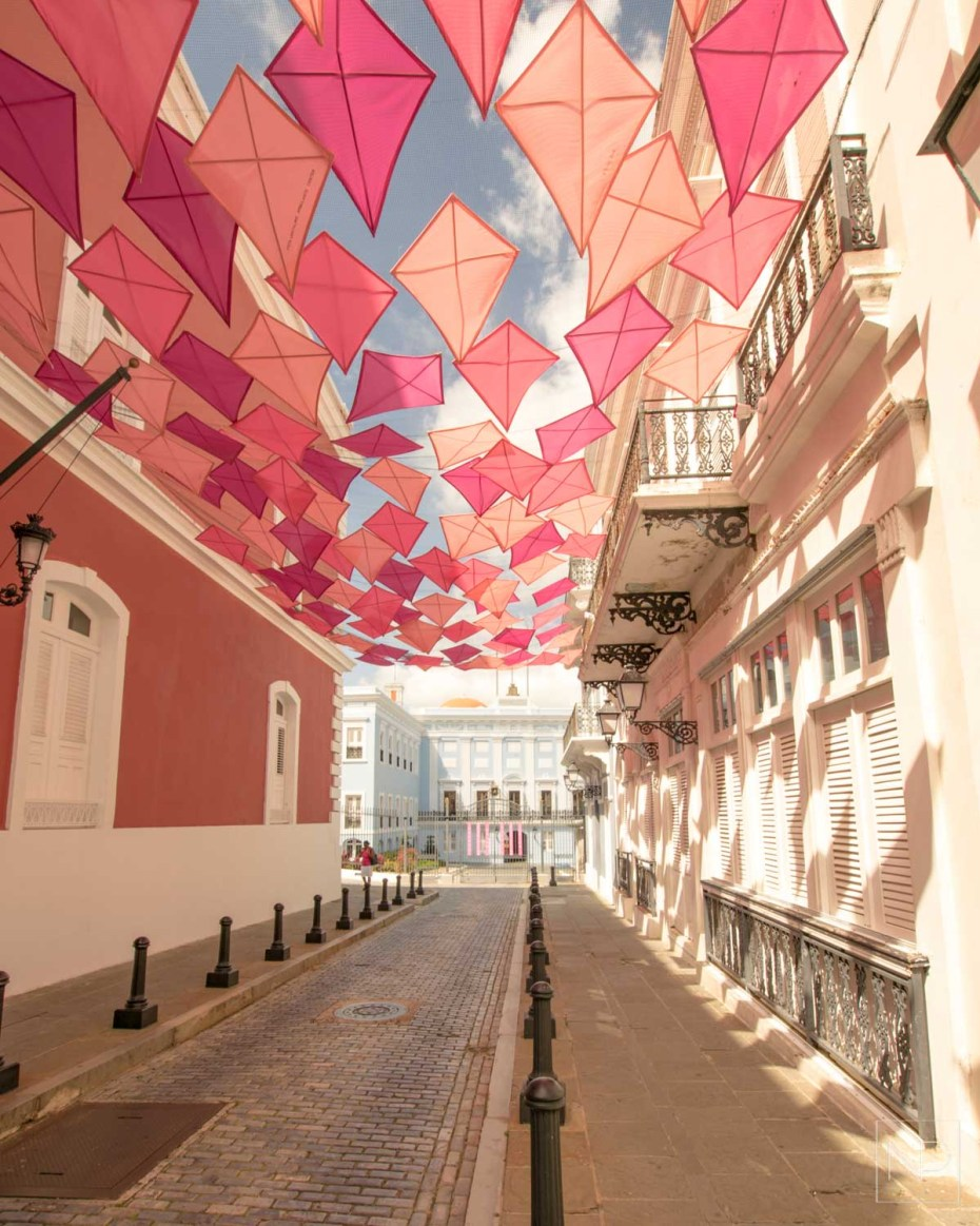 Colourful streets of San Juan, Puerto Rico