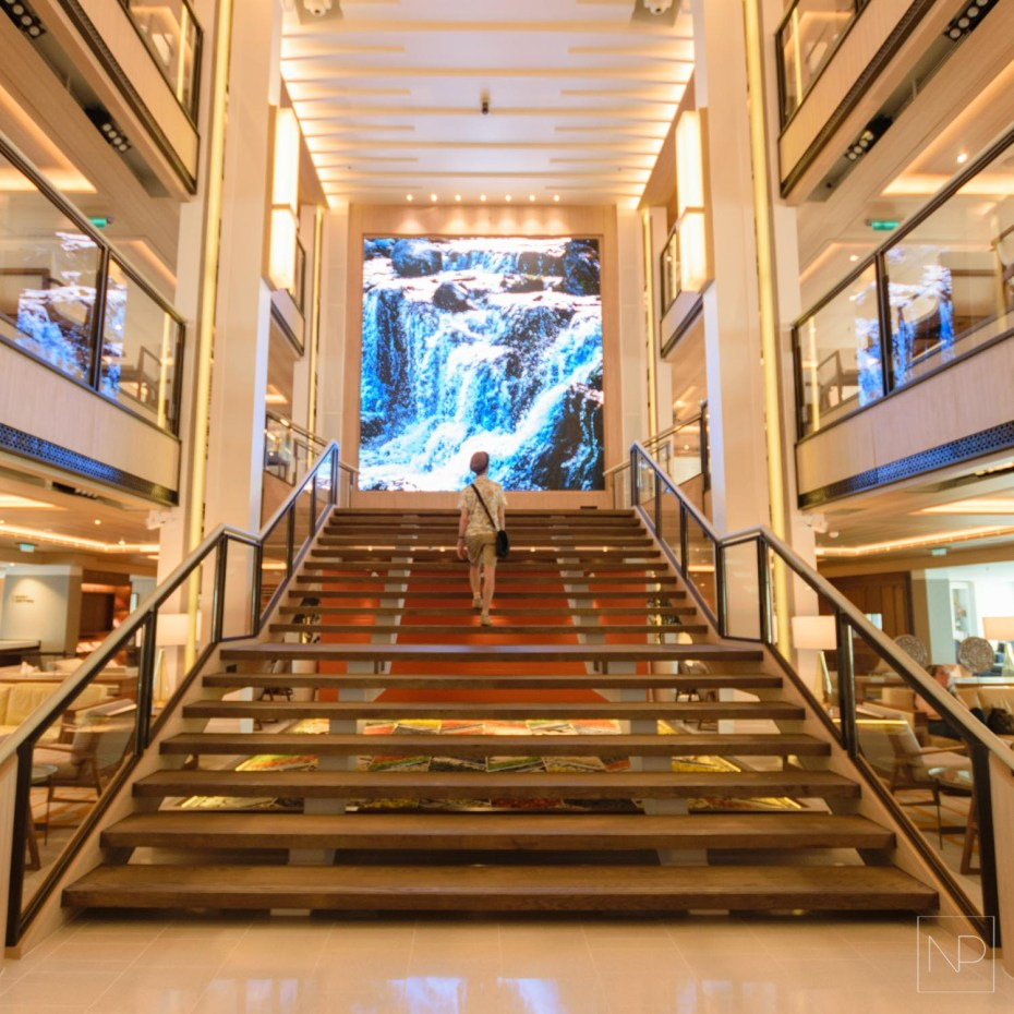Viking Sea atrium