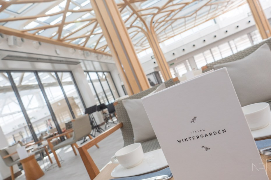 Wintergarden on Viking Cruise Ships [AD]
