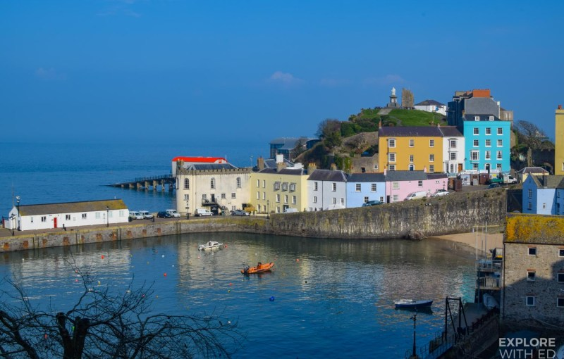Pretty Tenby Harbour, Wales