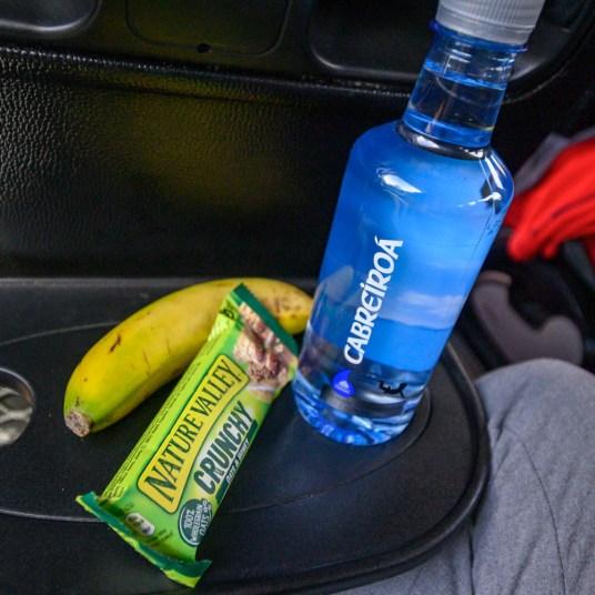 Snacks for our day tour to Santiago de Compostela